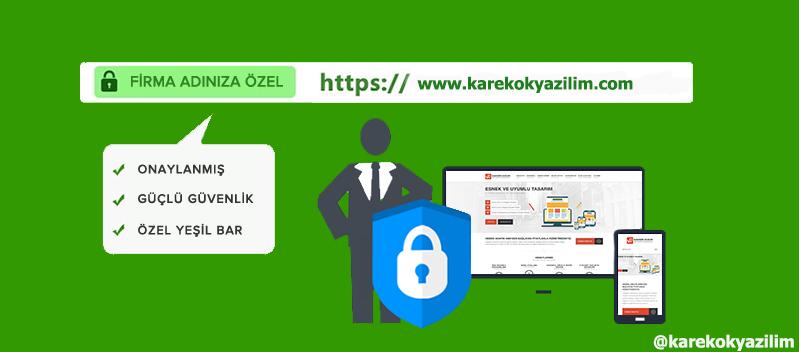 SSL SERTİFİKALARI