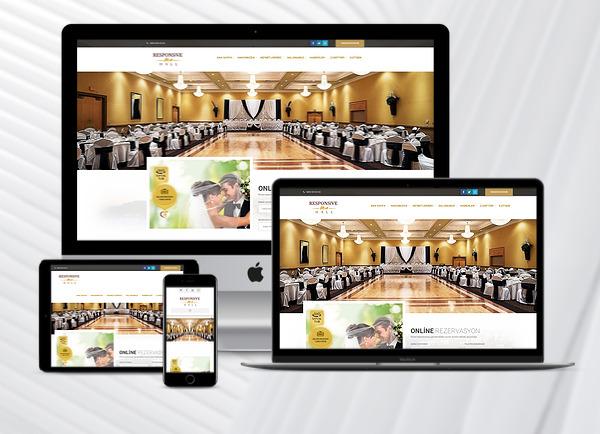 Düğün Salonu Web Paketi