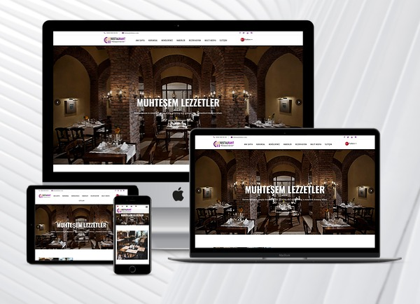 Restaurant Web Sitesi Nisa