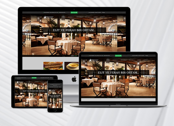 Restaurant Web Paketi Blacklife
