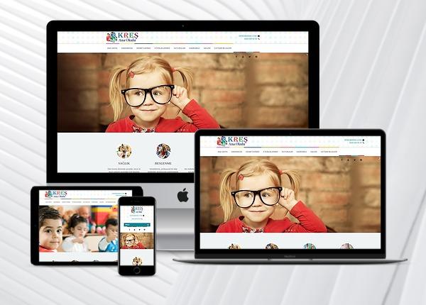 Kreş / Ana Okulu Web Paketi