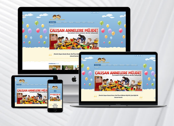 Sivas Kreş / Ana Okulu Web Sitesi