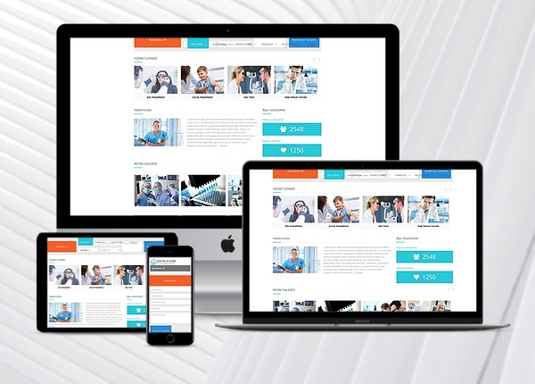 Sivas Doktor / Klinik Web Sitesi 2
