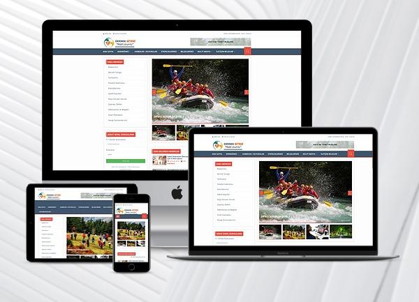 Dernek Web Tanıtım Sitesi 3