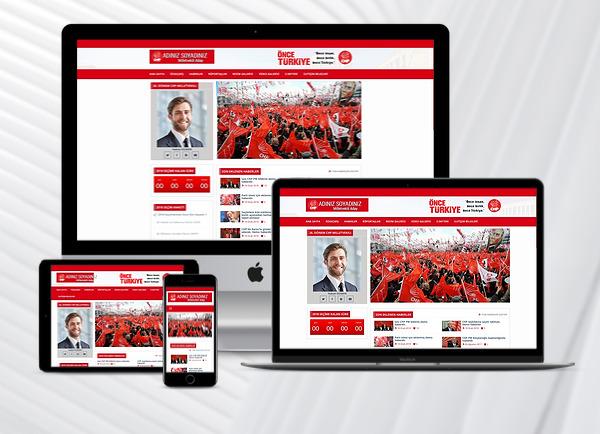 CHP - Parti Aday Web Tanıtım Sitesi