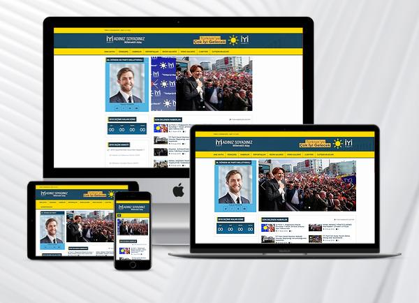 İYİ PARTİ - Parti Aday Web Tanıtım Sitesi