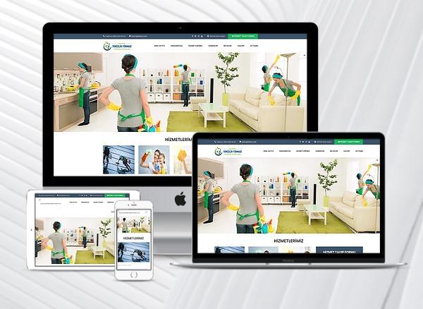 Temizlik Firmaları Web Tanıtım Sitesi