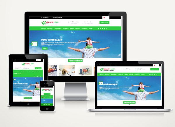 Sigortacı Web Tanıtım Sitesi