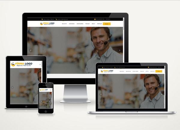 Kobi Danışmanlık Web Tanıtım Sitesi