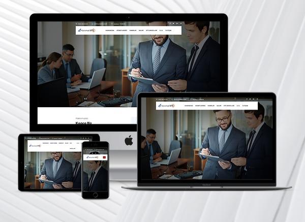 Kobi Kurumsal Web Tanıtım Sitesi