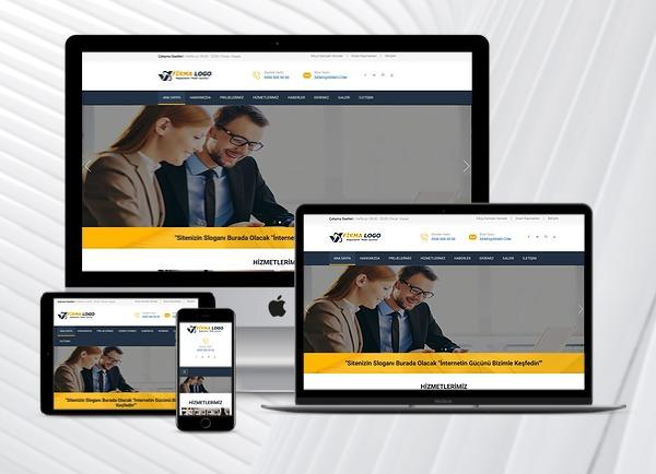 Mimarlık / Danışmanlık Web Tanıtım Sitesi
