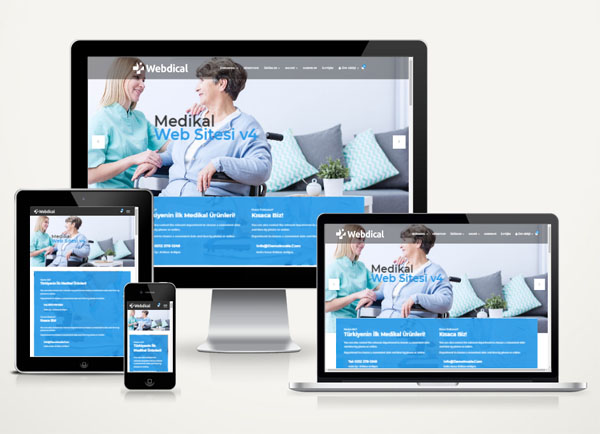 Medikal Web Sitesi Paketi