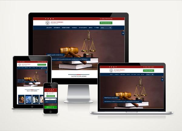 Hukuk/ Avukat Web Paketi