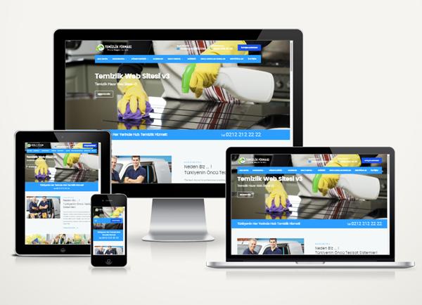 Sivas Temizlik Web Tanıtım Sitesi